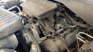 Engine needing engine repair