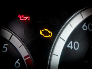 Auto repair check engine light