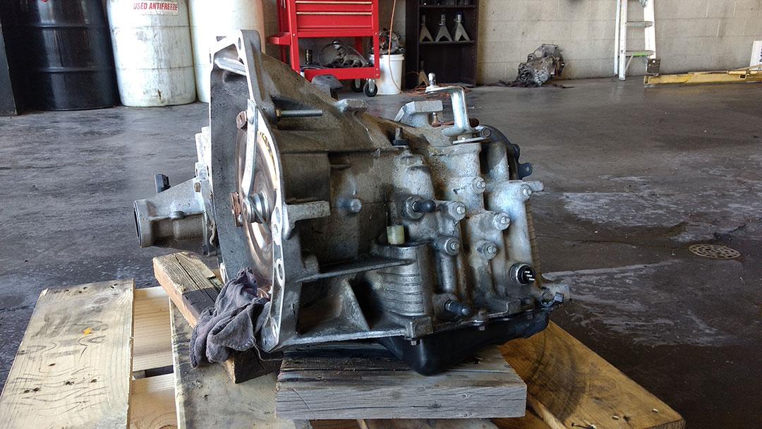 Transmission repair on automatic transmission