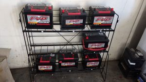 Complete vehicle maintenance includes battery