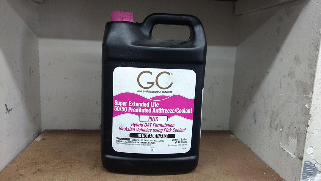 Complete vehicle maintenance using coolant