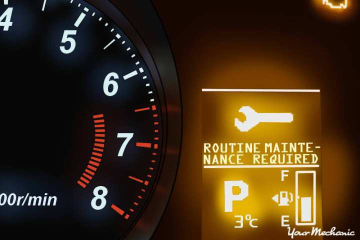 Check Engine Light Showing Routing Maintenance