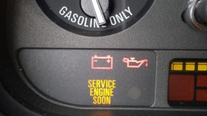 Check engine light service engine soon light
