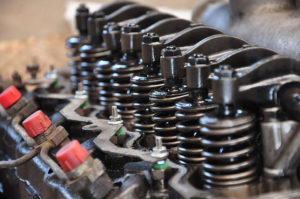 Valve springs and rockers for engine repair