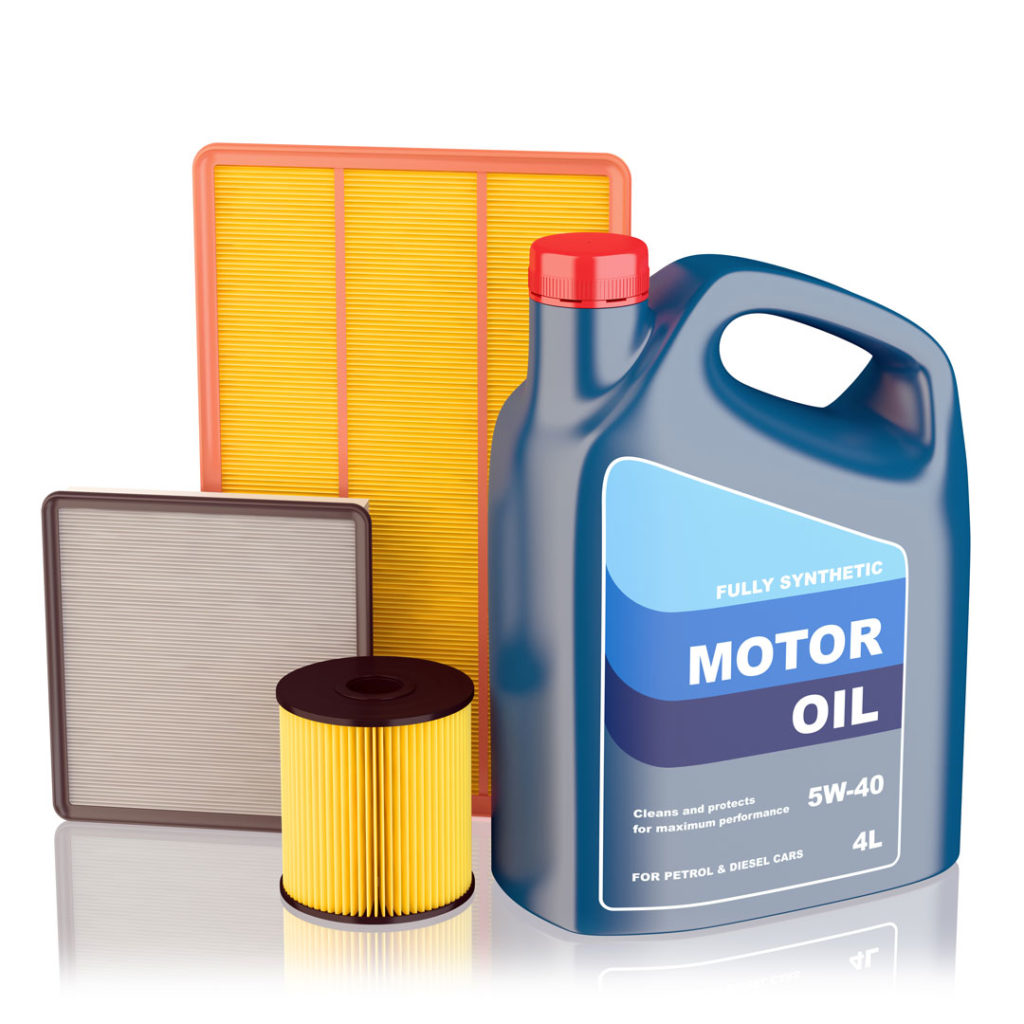 Oil and filters for oil changes